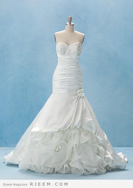فساتين زفاف لعروس 2015
