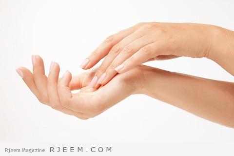 تبييض اليدين
