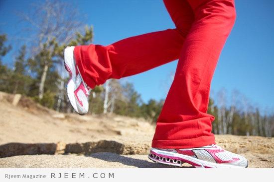 ساعات المشي لإنقاص الوزن