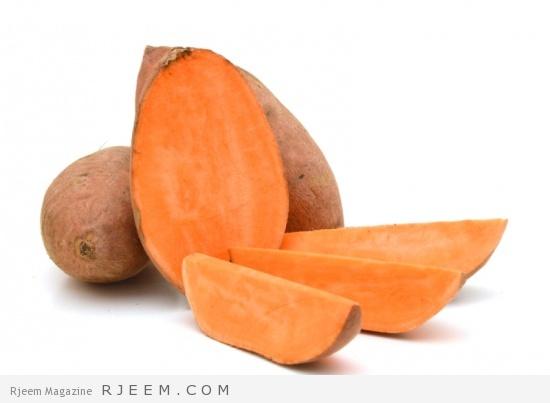 البطاطا الحلوة لبشرة صحية ونضرة