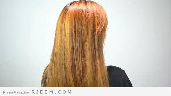 تنعيم الشعر الجاف الخشن في 15 دقيقة