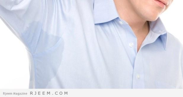التعرق الزائد - علاجات منزلية لمشكلة التعرق الزائد