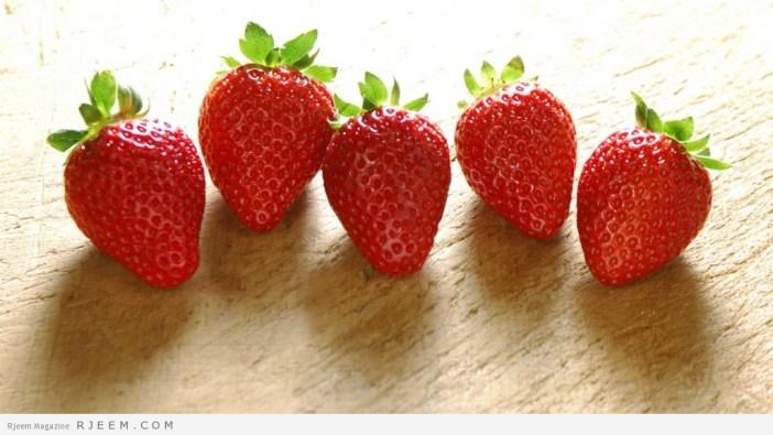 الفراولة - ما لا تعرفه عن فوائد الفراولة الصحية والجمالية