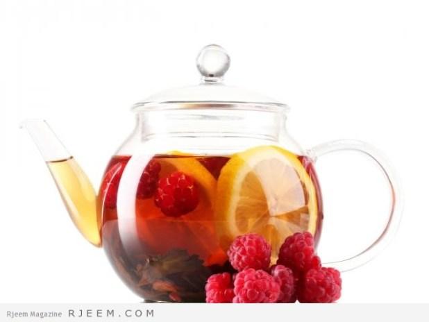 فوائد شاي التوت البري - اهمية شاي التوت الاحمر الصحية