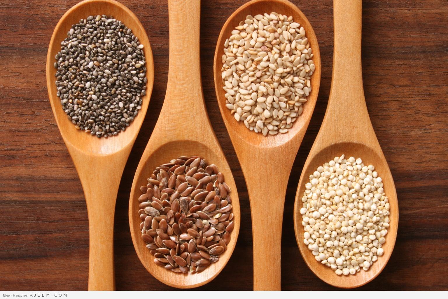 بذور الكتان للتخسيس اهمية بذرة الكتان لفقدان الوزن مجلة رجيم