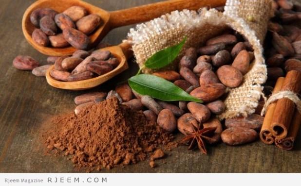 فوائد الكاكاو الصحية