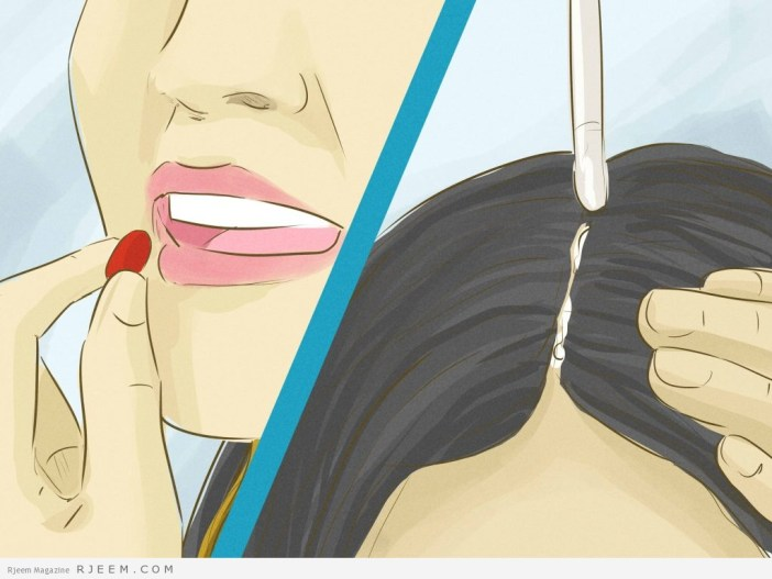 5 طرق لمنع تساقط الشعر بغزارة