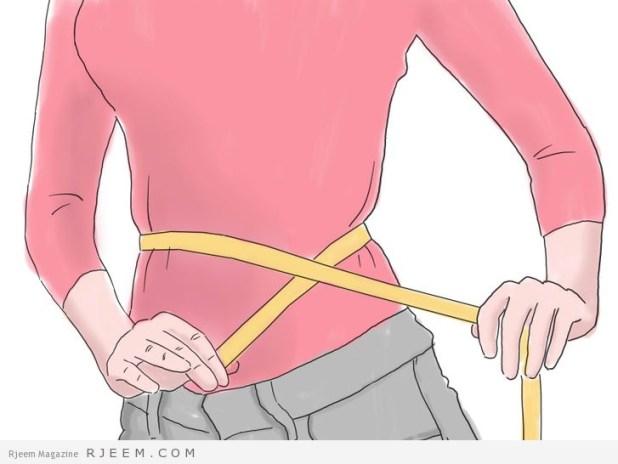 4 خطوات لخسارة الوزن الزائد