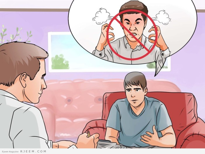 5 طرق للسيطرة على الغضب