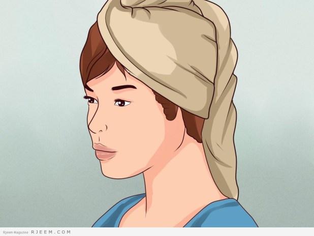 10 خطوات بسيطة للتغلب على جفاف الشعر