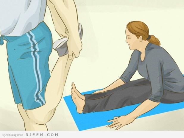 5 طرق لتنجب الشد العضلي