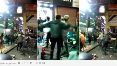 Photo of فيديو: مشاجرة دموية بين مصريين وسوريين بسبب صحن كنافة بالقاهرة