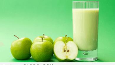 Photo of عصائر التفاح للتمتع ببطن مسطح