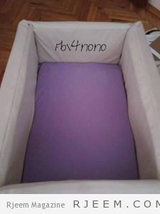 طريقة عمل سرير بيبي بالصور