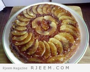 كيكة التفاح بالقرفة للشيف سالي فؤاد