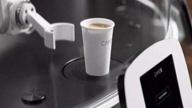 Photo of فيديو: أول مقهى روبوتي يحضر القهوة في أقل من دقيقة