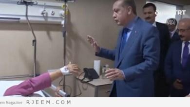 Photo of شاهد: ماذا فعل أردوغان لمريضة مُسنة أرادت تقبيل يده