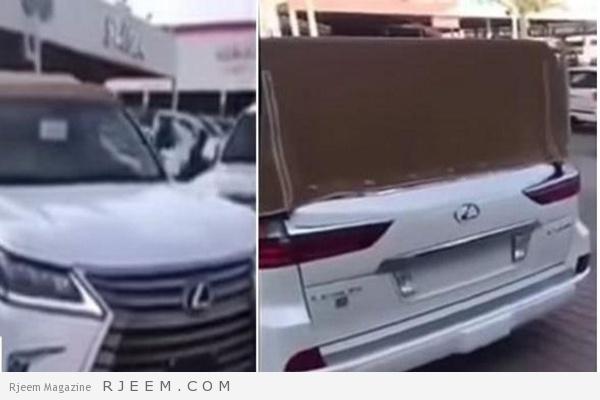 Photo of صاحبها يطلب 800 ألف ريال.. شاهد: سيارة جيب لكزس تخطف الأنظار بتعديلات مذهلة