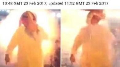 Photo of فيديو: بعد انفجار غطاء رأسه برصاصة ونجاته بأعجوبة.. سعودي يتصدر الصفحات الأولى للديلي ميل