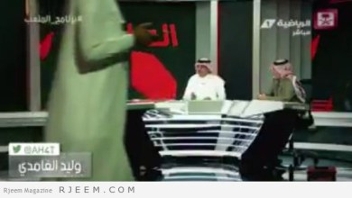 Photo of فيديو: شخص يمر أمام الكاميرات أثناء البث المباشر لإحدى البرامج على قناة الرياضية!