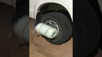 Photo of فيديو: الحاجة أم الاختراع.. شاب سعودي يستفيد من سيارته في خض اللّبن