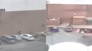 Photo of فيديو: سطو على أحد فروع ماكدونالدز بالرياض وفرار السارق بجهاز الكاشير