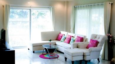 Photo of أفكار ديكور تجعل غرفة المعيشة تبدو أوسع