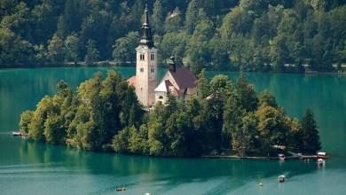 Photo of جزيرة الكنيسة بحيرة بليد في سلوفينيا