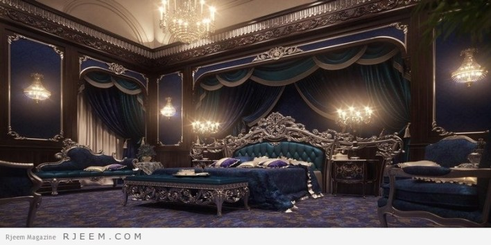 غرف نوم كلاسيك جميلة جداً