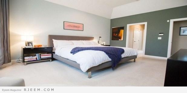 غرف نوم مودرن بسيطة