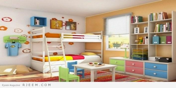 ديكورات غرف نوم اولاد بسيطة