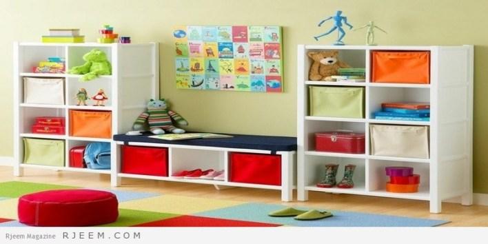ديكورات غرف نوم اولاد صغيرة
