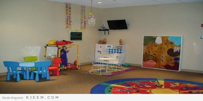 ديكورات غرف نوم اولاد مع العاب تسلية