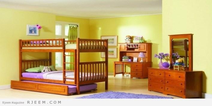 ديكورات غرف نوم اولاد اليوم