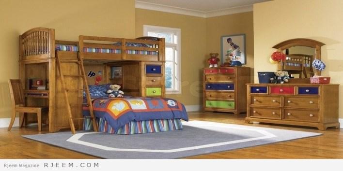 ديكورات غرف نوم اولاد جميلة للعام الجديد