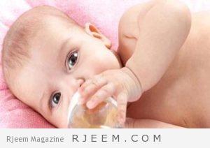 مشروبات طبيعية لعلاج الغازات عند الرضع