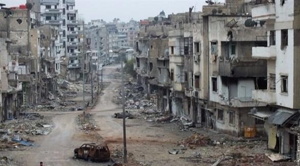 Photo of المرصد: النظام يقصف مدنيين في حمص ويتقدم على داعش في حماة