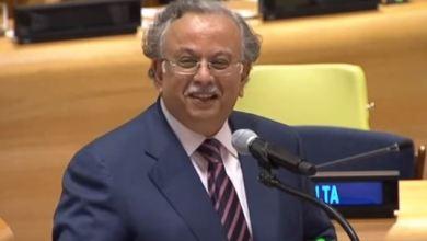 Photo of بالفيديو: المعلمي يعلن خبر السماح للمرأة بالقيادة في الأمم المتحدة.. والقاعة تضج بالتصفيق