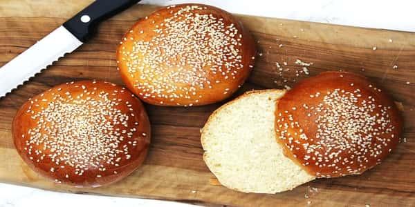 طريقة عمل خبز البرجر - مجلة رجيم