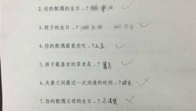 Photo of محكمة صينية تُخضع الراغبين في الطلاق لامتحان كتابي
