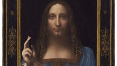"Photo of لوحة ""سالفاتور مندي"" لدافينشي تقترب من 100 مليون دولار في مزاد"
