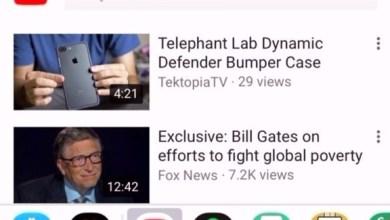 Photo of يوتيوب يسمح بمشاركة الفيديو داخل آي ماسيج دون ترك المحادثة