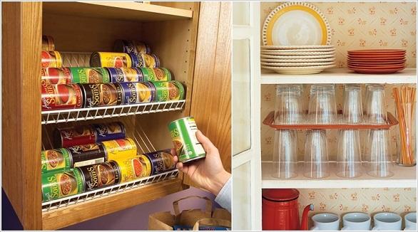 نتيجة بحث الصور عن الاستغلال الامثل لمساحات المطبخ الرفوف