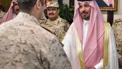 Photo of وزير الحرس الوطني المعين يشكر خادم الحرمين