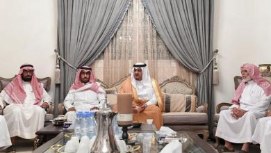 Photo of نائب أمير الرياض يعزي أسرتي الجريش والسهلي