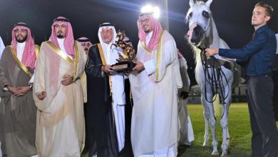 Photo of خالد الفيصل يتوج الفائزين ببطولة جمال الجواد العربي