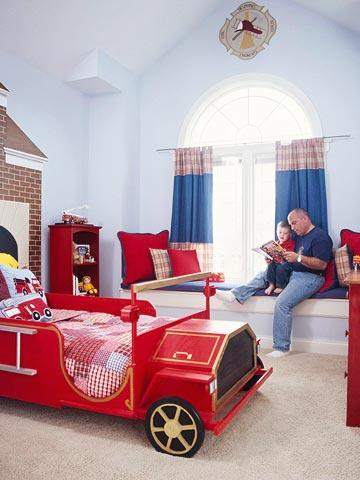 ديكورات غرف نوم أطفال أولاد و 9 أفكار لطفل ذو خيال واسع مجلة رجيم
