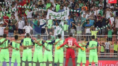 """Photo of بعد منع لقب """"الملكي"""".. الأهلاويونيرفعون عبارة """"الزعيم"""" في مباراة الفيحاء"""