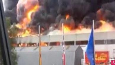 Photo of حريق في ألمانيا يعود للحرب العالمية الثانية يستدعي قوات إطفاء كبيرة