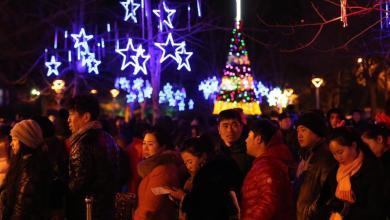 Photo of بالصور: احتفالات الكريسماس تعم العالم